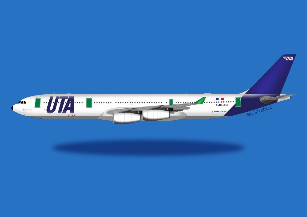A340-300 UTA