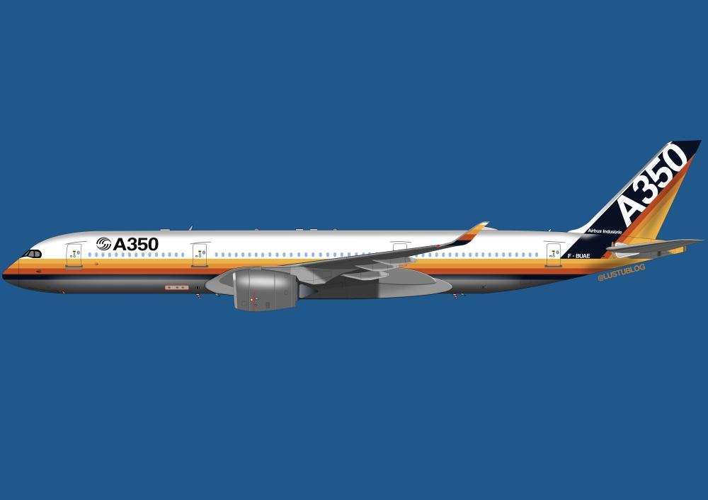 A350-900vintage