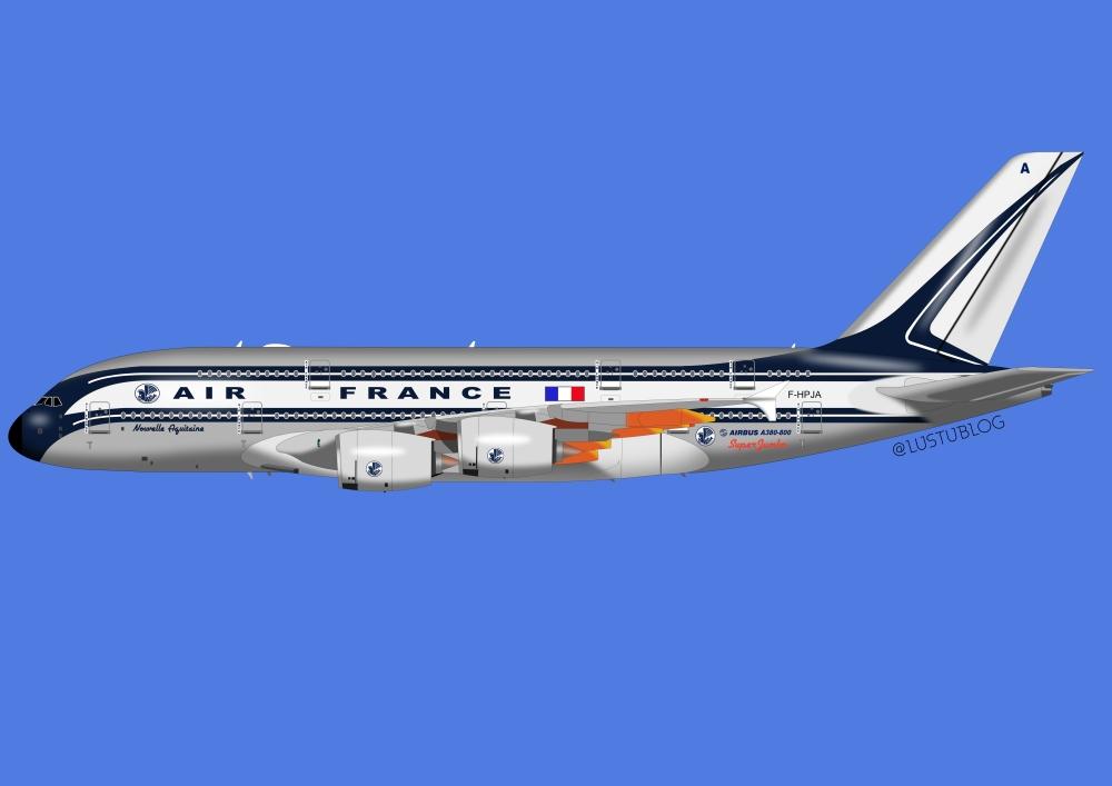 A380-800AF vintage