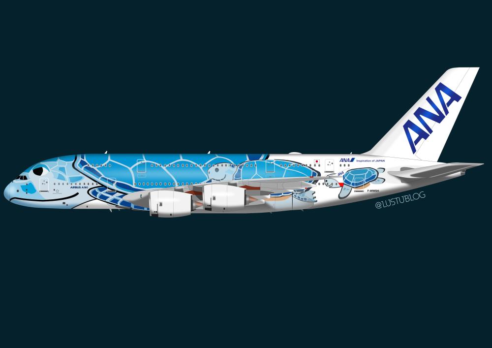 A380-800ana