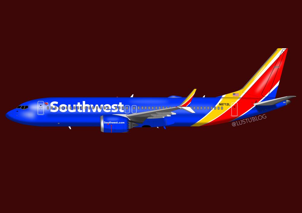 737MAX8southwest