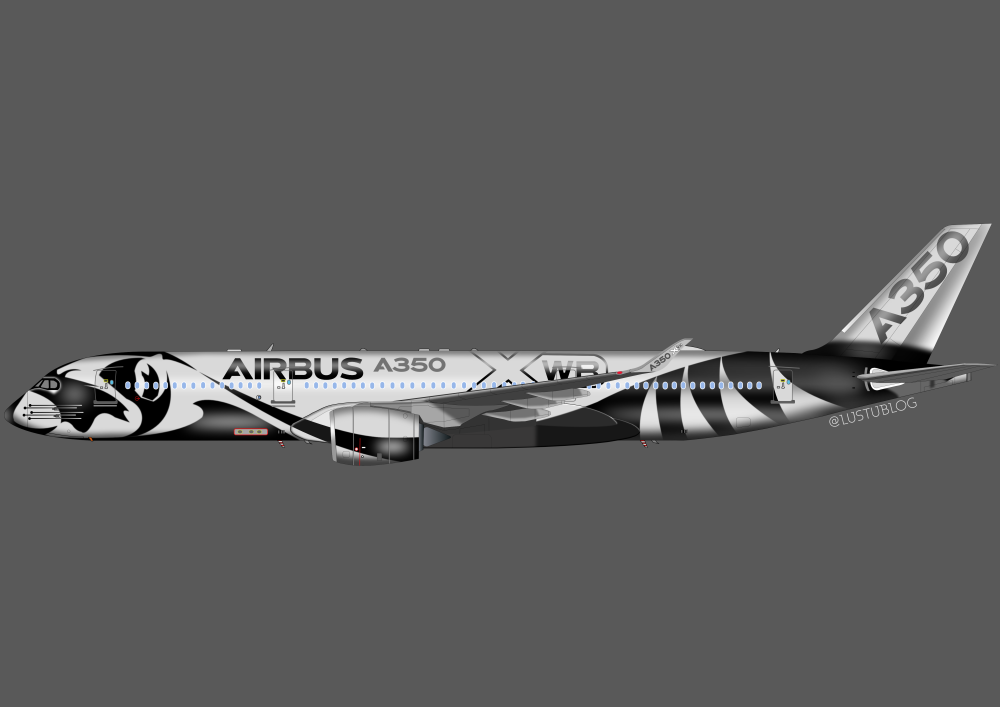 A350-900 racoon